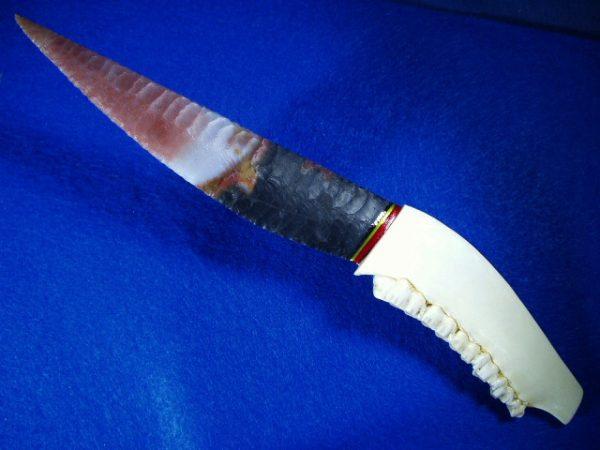 jafar jasper flintknapped blade