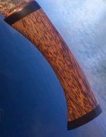 palmwood knife handle with eboy pommel
