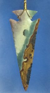 screamer polychrome jasper arrowhead