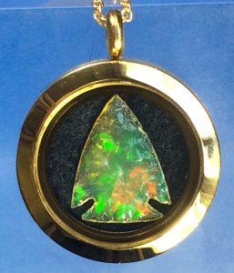 crystal opal arrowhead
