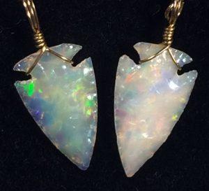 opal-arrowhead-earrings