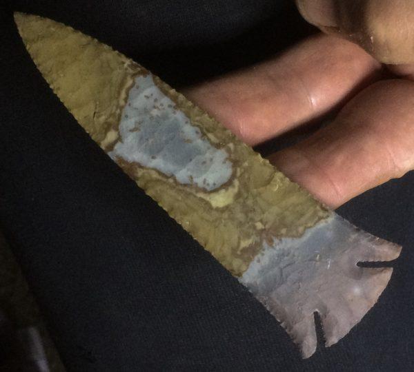 polychrome jasper lost lake spear point